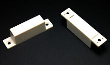 2PC Enclosed Magnetic Reed Switch Activator Door Window Safe Alarms