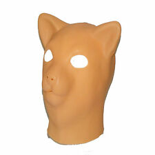 TheSexShopOnline - Latex Pink Pussy Cat Gimp Bondage Rubber Fetish Mask With Zip