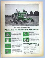 Original 1954 Oliver 77 Tractor Ad WHAT MAKES ONE TRACTOR BETTER THAN ANOTHER