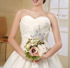 Wedding Bouquet Bride Hand Holding Flower Artificial Peony Champagne Flower