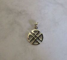 Sterling Silver Celtic Knot Charm Irish Symbol Pendant Jewelry for All Necklaces