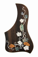 Rosewood Pickguard Acoustic/Classical Guitar Rightside free ship Grape-PGTLRC03