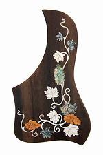 Rosewood Pickguard Acoustic/Classical Guitar Rightside free ship Grape-PGTLRC03