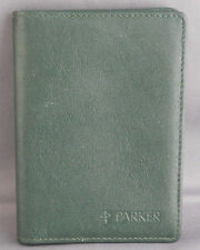 Parker Pen Company Credit Card Wallet--Green--GREAT GIFT ITEM