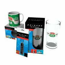 Official Friends Central Perk Gift Set - Boxed Keyring Glass Coasters