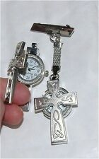 UNUSUAL CROSS  NURSES/STUDENT BEAUTICIAN VET FOB WATCH-NEW-LOVELY