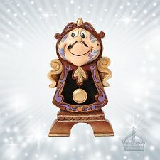 Cogsworth Schöne & Biest  Jim Shore Disney Traditions Standuhr Watch  4049621