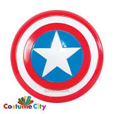 "Captain America 12"" Shield Official Marvel Kids Fancy Dress Costume Accessory"