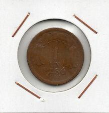 Chile : 1 Peso 1944 ( buen ejemplar )