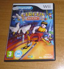 Jeu nintendo wii - Playmobil le cirque Circus tous en piste