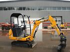 JCB 8014 / 8016 / 8018 MINI DIGGER COMPLETE DECAL SET WITH SAFTY WARNING