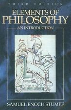 Elements of Philosophy: An Introduction Stumpf, Samuel Enoch Hardcover