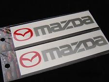 Mazda Decal Sticker Vinyl 3 6 9 CX for Window Body Hood Trunk Door Side Vent