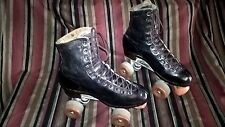 Riedell Roller Skates high Top black men's 6.5/ 7.5 Ladies ships free