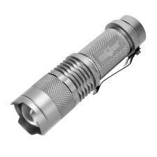Waterproof Zoomable CREE T6 5000 Lumens LED Tactical Flashlight Torch 3 Modes