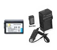 Battery + Charger for Sony NEX-5 NEX-5CA NEX-5CD NEX-5D NEX-5H NEX-5CH NEX-5K