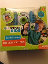 Discovery Kids Digital Video Camera  USB Compatible Blue Green STORES 120 PHOTOS