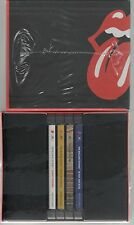 THE ROLLING STONES BOX COLLECTOR'S SLIPCASE 4 CD BLACK AND BLUE STIKY FINGERS SS
