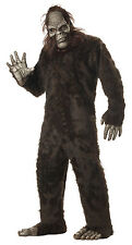 Adult Gorilla Sasquatch Big Foot Full Suit Costume One Size
