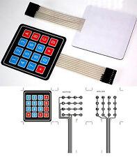 Clavier Souple Autocollant 16 touches Keyboard Keypad Module Arduino