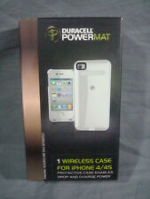 Powermat Duracell Powermat RCA4W1 Wireless Case for iPhone 4/4S - White Cellu...