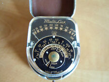 Rare Vintage Multi Lux Ice Milan Exposure/Light Meter Cased-In Working Order