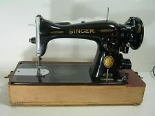 1954 Singer Sewing Machine Model 15 with Case