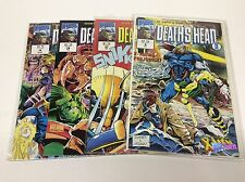 DEATH'S HEAD II #1-4 (MARVEL/UK/1992/ONGOING/SHARP/0816217) COMPLETE SET OF 4