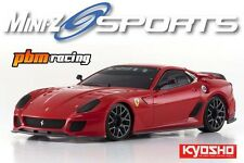 Kyosho Mini-Z Sports MR-03 Ferrari 599XX TEST CAR RED 1/27 2.4 G RC RTR - 32224tr