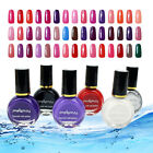 10ml Pure Color Nail Art Stamp Stamping Special Polish FULL SIZE Varnish Tool