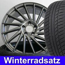 """18"""" Keskin KT17 Grau Winterradsatz 225/40 für VW Golf 6 Variant 1KM"""