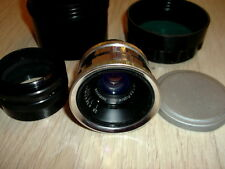 1960 SILVER jupiter-12 2,8/35mm lens M39 RF ZORKI LEICA FED RED P