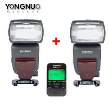 2Pcs YONGNUO YN-685 Speedlite Flash+YN-622C-TX Wireless Trigger For DVR Canon 5D