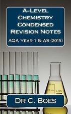 Chemistry Revision Cards: A-Level Chemistry Condensed Revision Notes AQA Year...