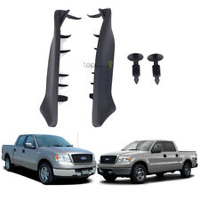 1 Pair Windshield Weatherstrip Rubber Seal Trim Wiper Cowl End Pieces For F-150