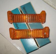 NOS 1969 CHEVROLET IMPALA BELAIR BISCAYNE PARKING LAMP LENSES PAIR 5961196