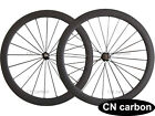 U Shape 50mm clincher carbon road bike wheels 20.5mm,23mm,25mm,27.5mm rim width
