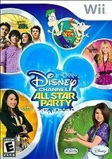 Disney Channel All Star Party Brand New Factory Sealed Free SH!!! Nintendo Wii