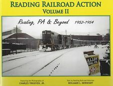 Reading Railroad Action - READING, PENNSYLVANIA and Beyond, 1952-1954 (NEW BOOK)