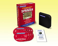 New 8 CD Pimsleur Learn to Speak conversational CASTILIAN SPANISH Language