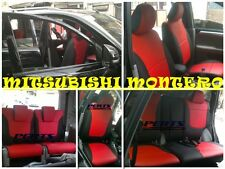 High quality Mitsubishi Montero Factory Fit Customized Leather CAR SEAT COVER