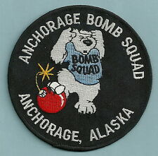 ANCHORAGE ALASKA POLICE BOMB SQUAD PATCH