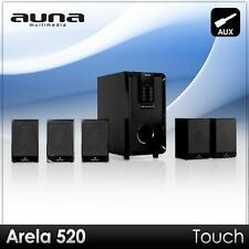5.1 AUDIO HIFI LAUTSPRECHER ANLAGE HEIMKINO BOXEN SET PC SPEAKER SURROUND SYSTEM