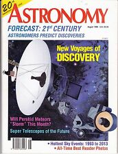 Astronomy Magazine August 1993, Milky Way, Asteroids, Perseids
