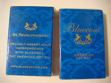 2 MATCHES Match Books ~ BLUECOAT American Dry Gin ~ Be Revolutionary Proudly