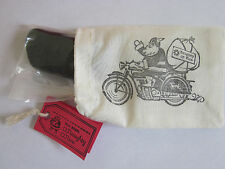 LUMP OF ALASKA COAL STOCKING STUFFER GAG GIFT NAUGHTY OR NICE SANTA RIDES HARLEY