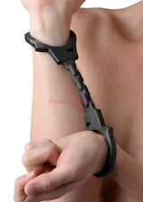 Slave Game Fetish Handcuffs Soft Silicone Shackle Wrist Ankle Restraints Costume