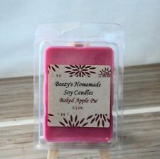 Beezy's Homemade Soy Candles Baked Apple Pie Natural Soy Wax Melts/Tarts