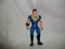 1993 Billy Lee Tyco Blue Action Figure Double Dragon Punching Art Toy