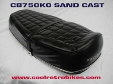 HONDA CB750K0 CB 750 KO SAND CAST SEAT ORIGINAL ISSUE OEM COVER MINT NO REPOP !